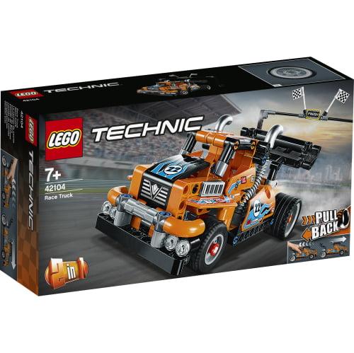 lego camion carreras 42104