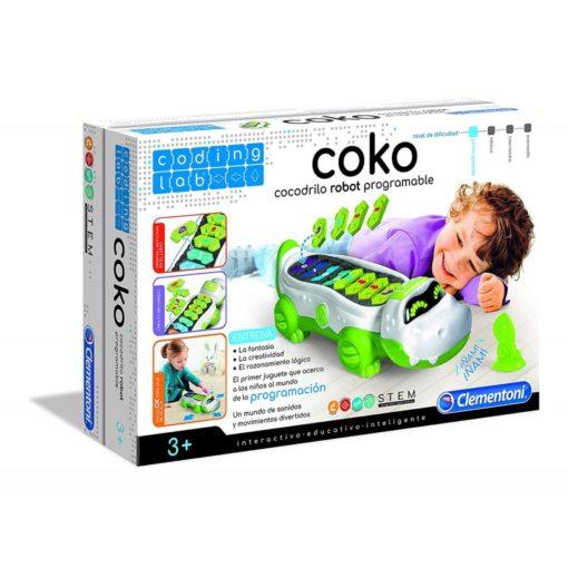 coko cocodrilo programable clementoni