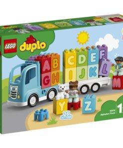 lego duplo camion abecedario