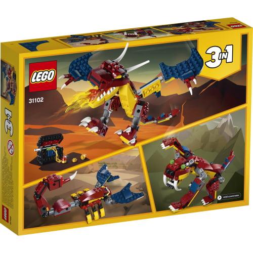 lego dragon 31102