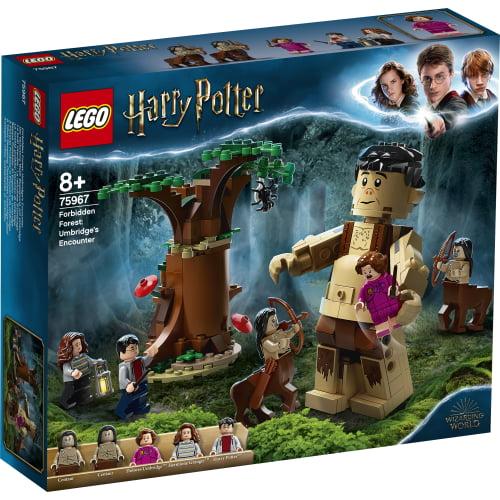 lego harry potter bosque prohibido 75967