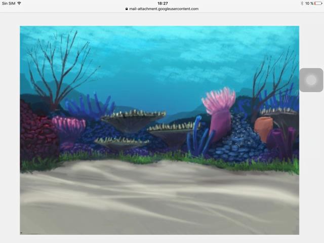Bajo el mar. Scratch